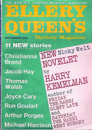 Ellery Queen's Mystery Vol. 50 No. 5 Magazine