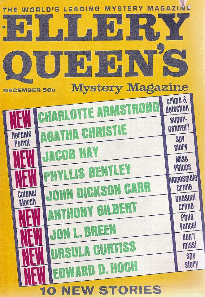 Ellery Queen's Mystery Vol. 50 No. 6