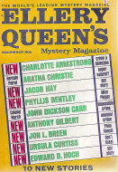 Ellery Queen's Mystery Vol. 50 No. 6 Magazine