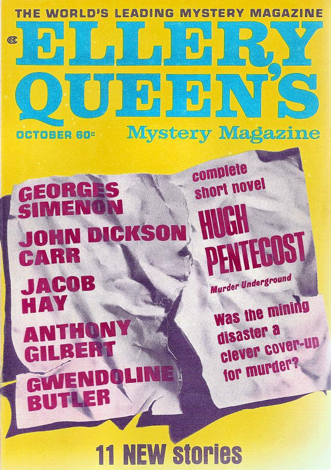 Ellery Queen's Mystery Vol. 52 No. 4