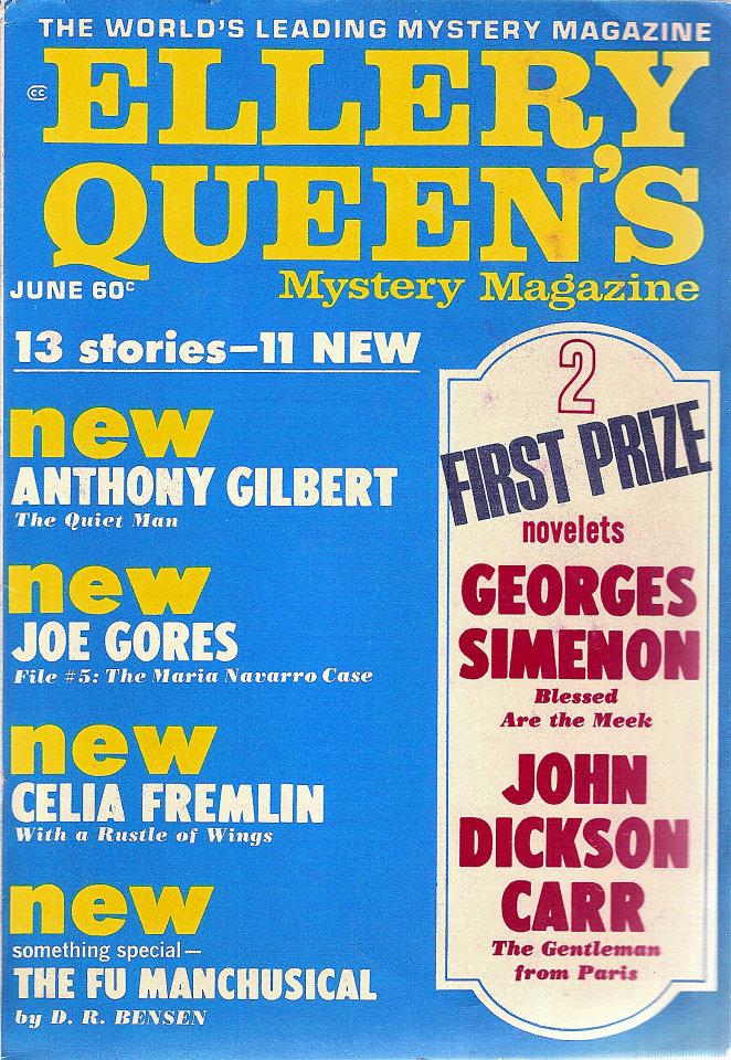 Ellery Queen's Mystery Vol. 53 No. 6
