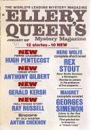 Ellery Queen's Mystery Vol. 55 No. 1 Magazine