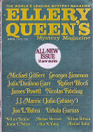 Ellery Queen's Mystery Vol. 61 No. 4 Magazine