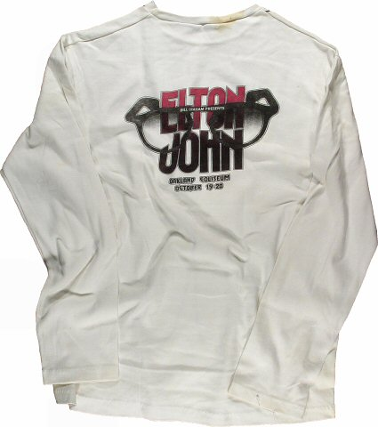 Elton John Men's T-Shirt reverse side