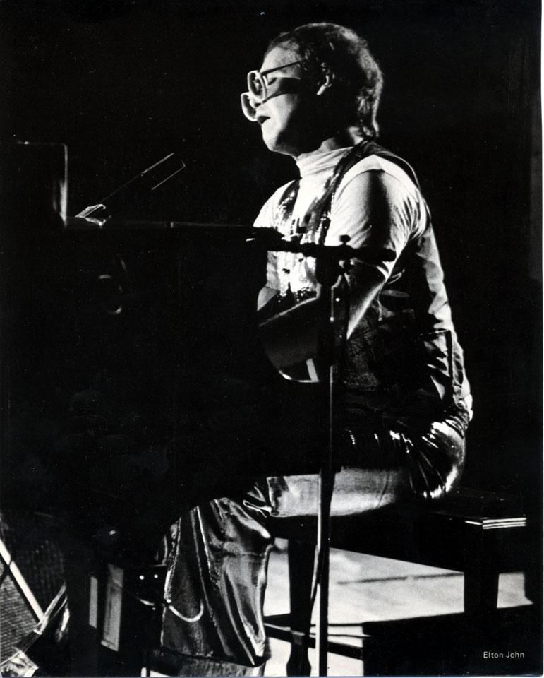 Elton John Vintage Print