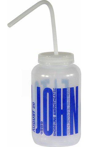 Elton John Water Bottle reverse side