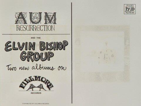 Elvin Bishop Group Postcard reverse side