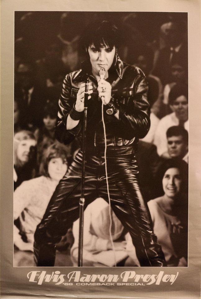 Elvis Aaron Presley Poster