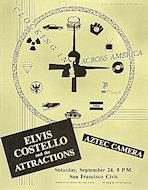 Elvis Costello & the Attractions Handbill
