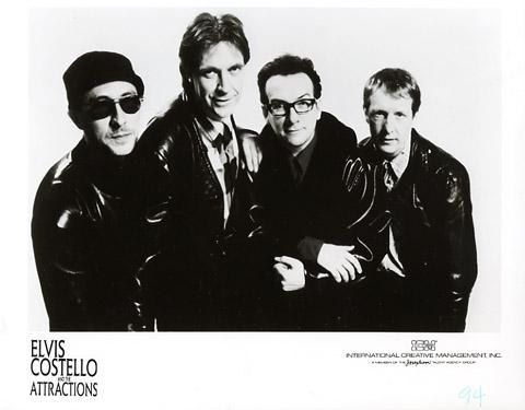 Elvis Costello & the Attractions Promo Print