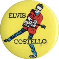 Elvis Costello Pin