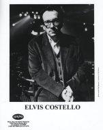 Elvis Costello Promo Print