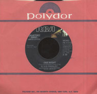 "Elvis Presley / The Jordanaires Vinyl 7"" (Used)"