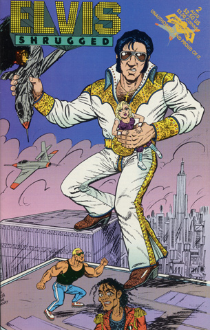 Elvis Shrugged Comic, Issue 2 Comic Book