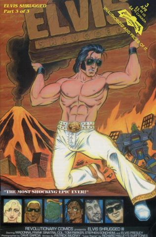 Elvis Shrugged Comic, Issue 3 Comic Book