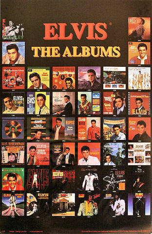 Elvis - The Albums Poster