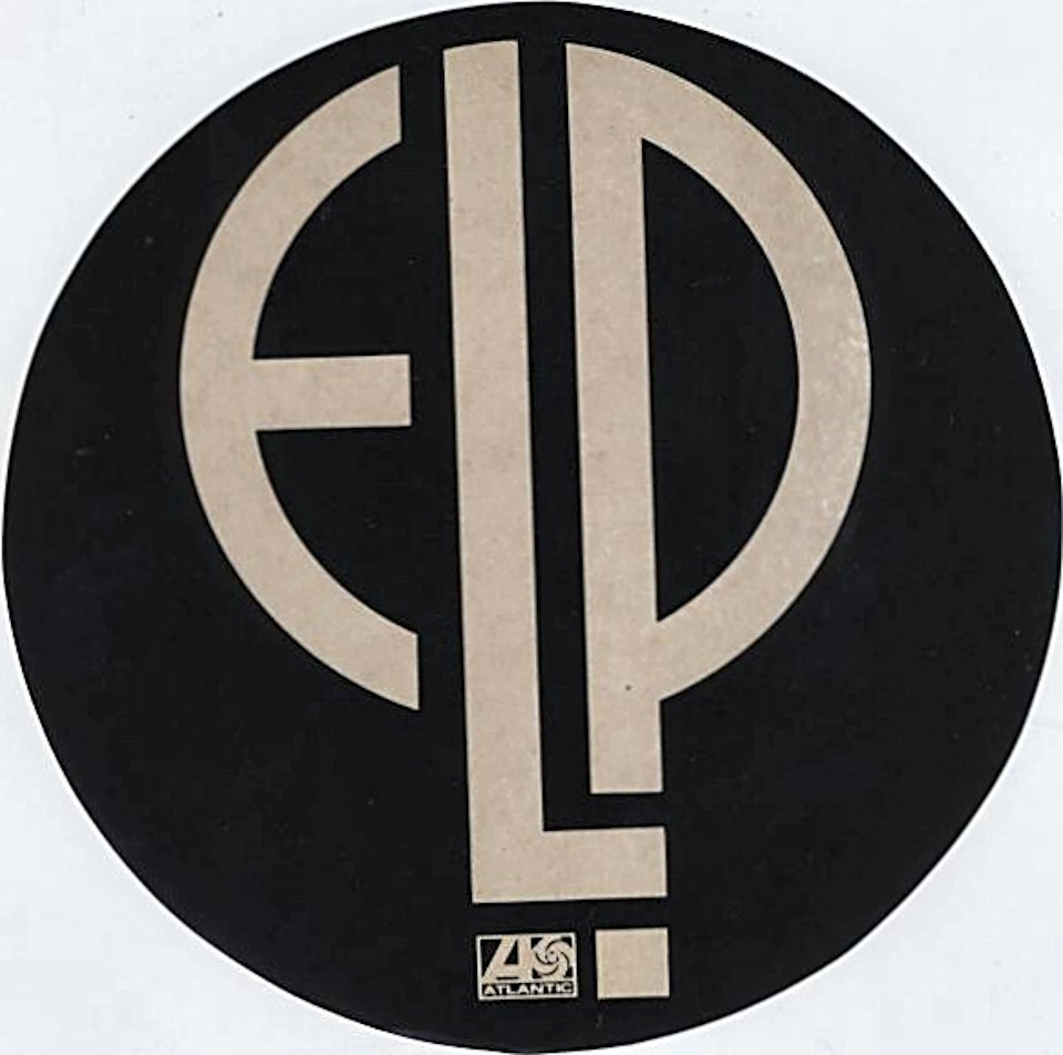 Emerson, Lake & Palmer Sticker