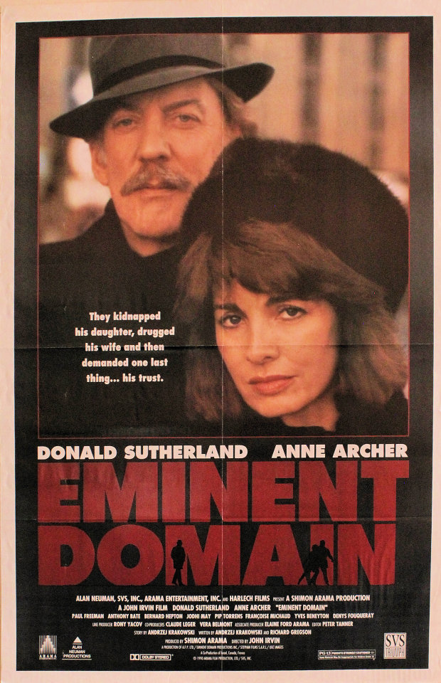 Eminent Domain Poster