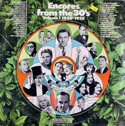 "Encores From The 30's Volume 1 1930-1935 Vinyl 12"" (New)"