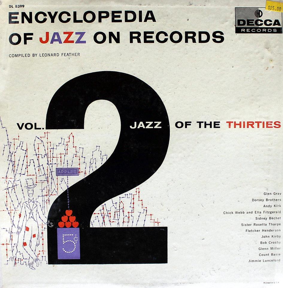 "Encyclopedia Of Jazz On Records: Vol. 2 Jazz Of The Thirties Vinyl 12"" (Used)"