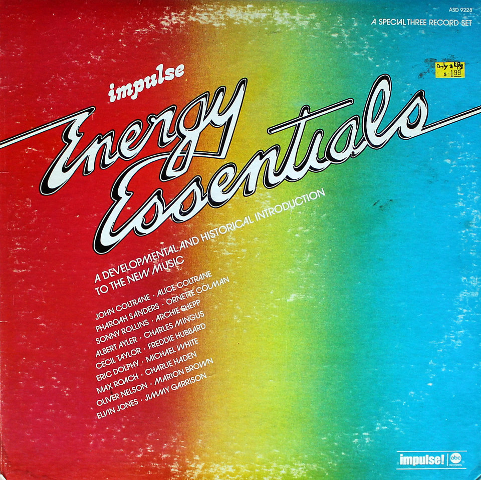 "Energy Essentials Vinyl 12"" (Used)"