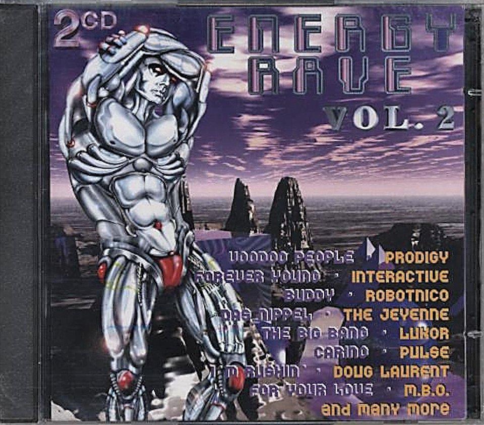 Energy Rave Vol. 2 CD