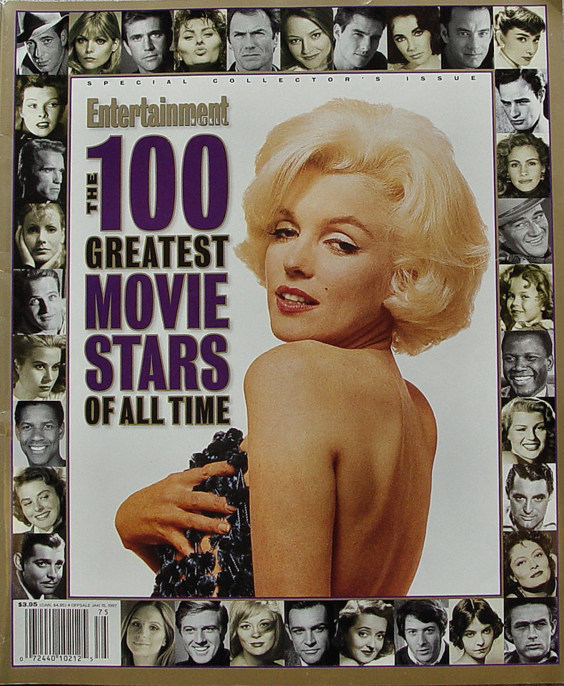Entertainment Weekly: 100 Greatest Movie Stars of All Time