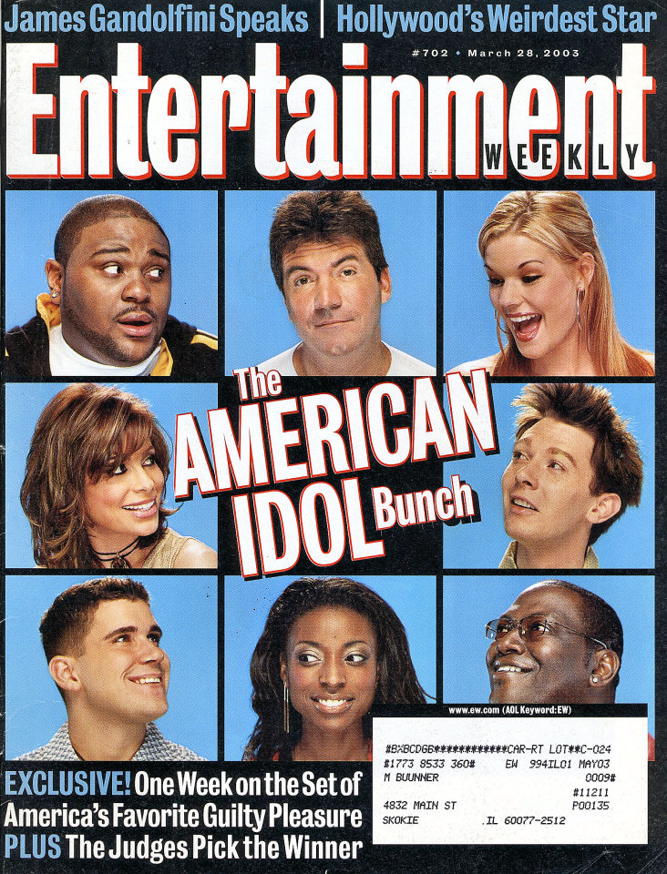 Entertainment Weekly Issue No. 702