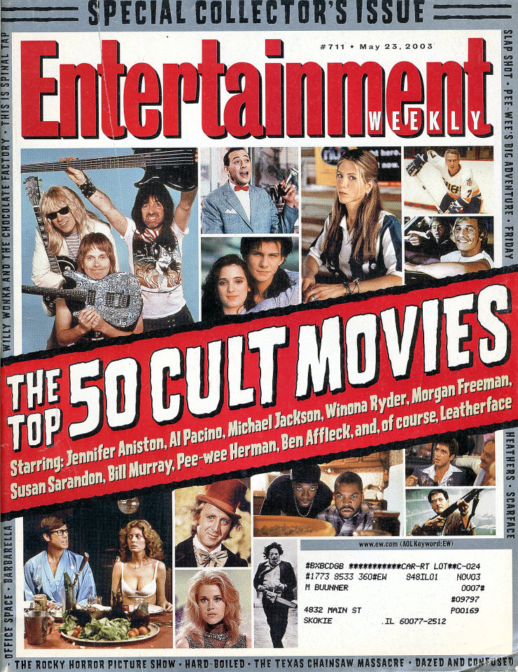 Entertainment Weekly Issue No. 711