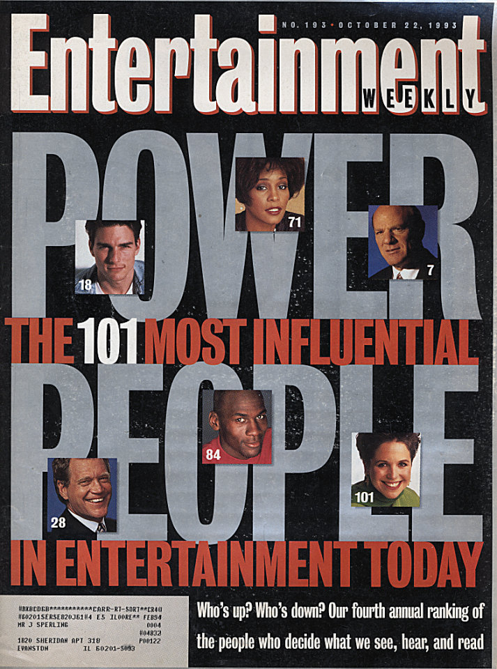 Entertainment Weekly No. 193