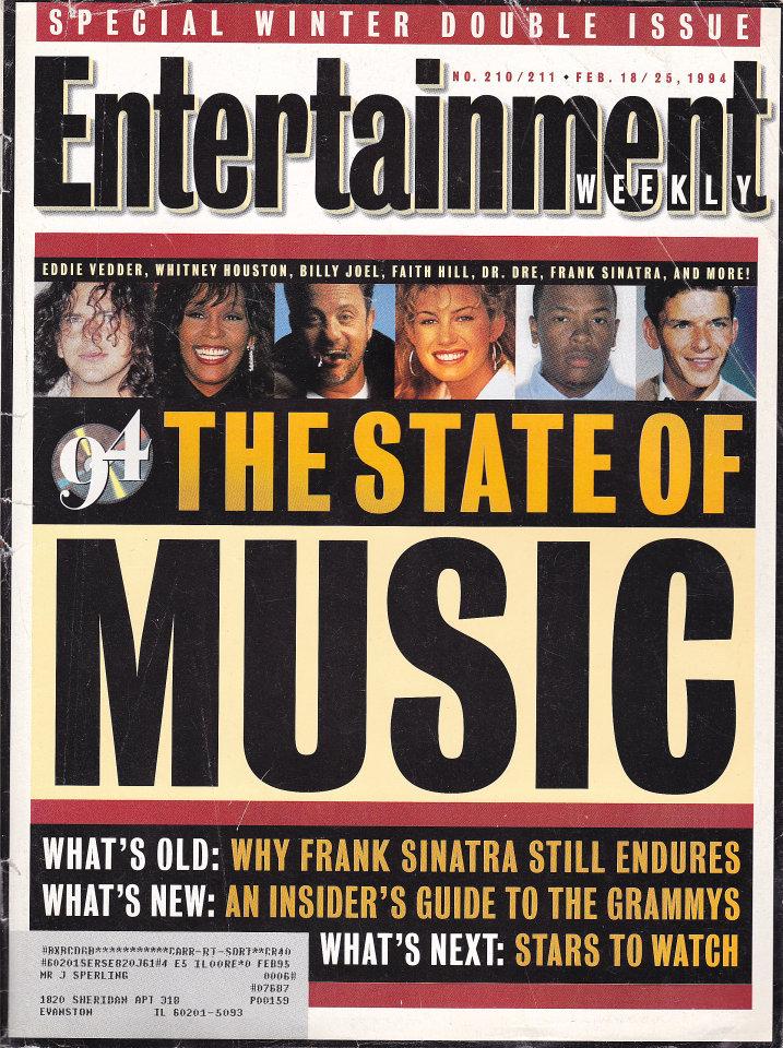 Entertainment Weekly No. 210 / 211