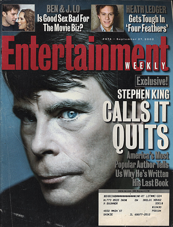 Entertainment Weekly No. 674