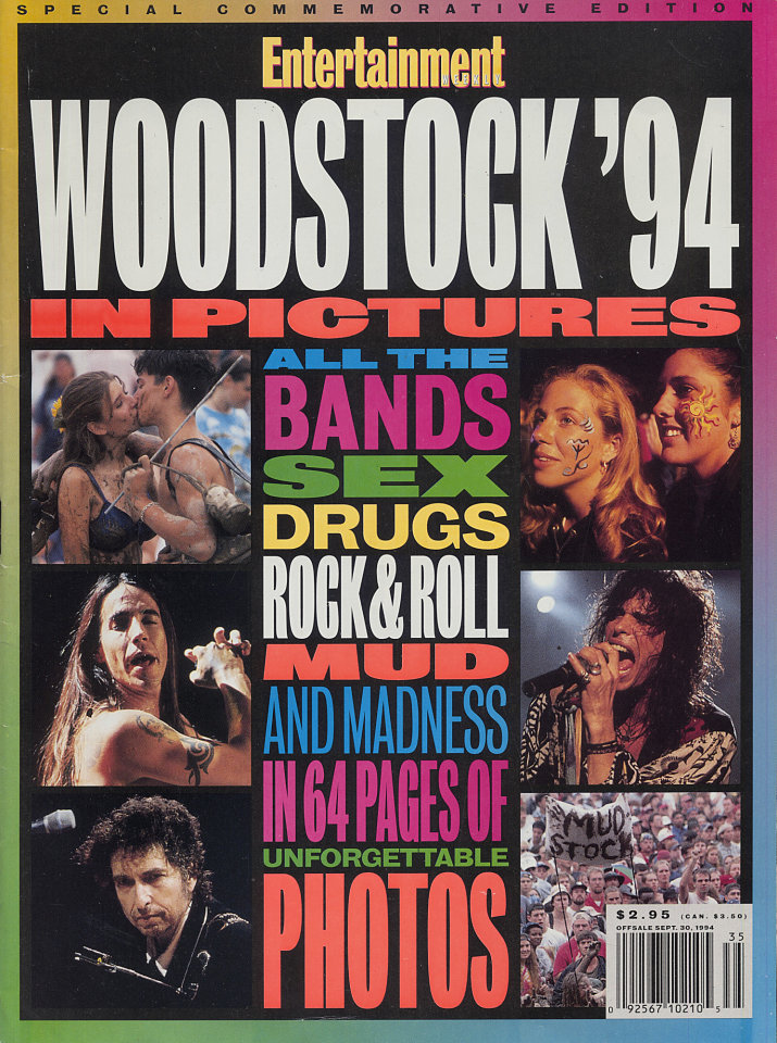 Entertainment Weekly Woodstock '94 Edition