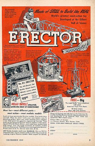 Erector Vintage Ad