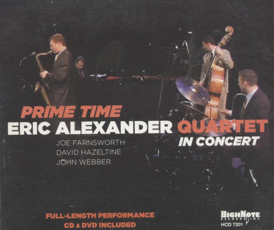 Eric Alexander Quartet CD