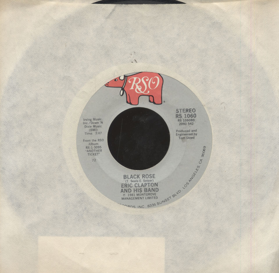 """Eric Clapton and his Band Vinyl 7"""" (Used)"""