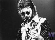 Eric Clapton Vintage Print