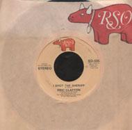 """Eric Clapton Vinyl 7"""" (Used)"""