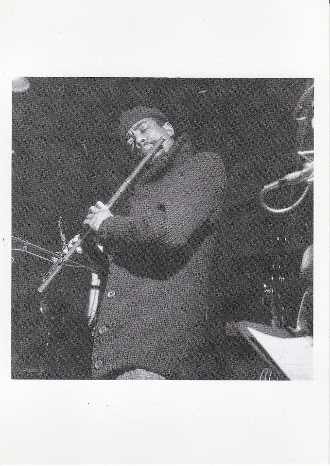 Eric Dolphy Postcard