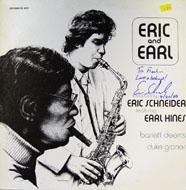 "Eric Schneider / Earl Hines Vinyl 12"" (Used)"