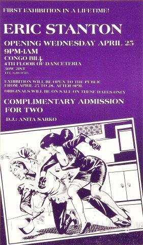 Eric Stanton Exhibition Handbill