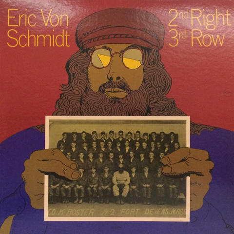 "Eric Von Schmidt Vinyl 12"" (Used)"