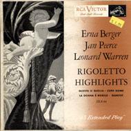 "Erna Berger Vinyl 7"" (Used)"