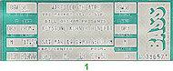 Ernie Andrews Vintage Ticket