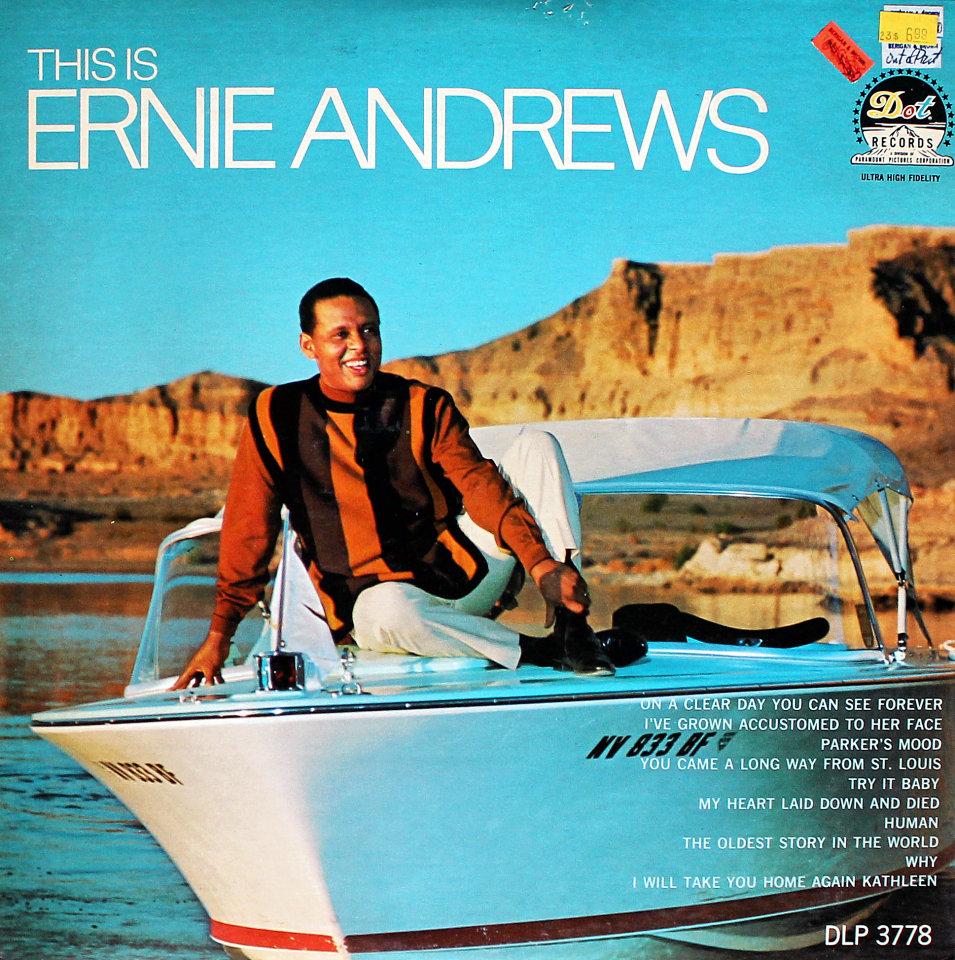"""Ernie Andrews Vinyl 12"""" (Used)"""