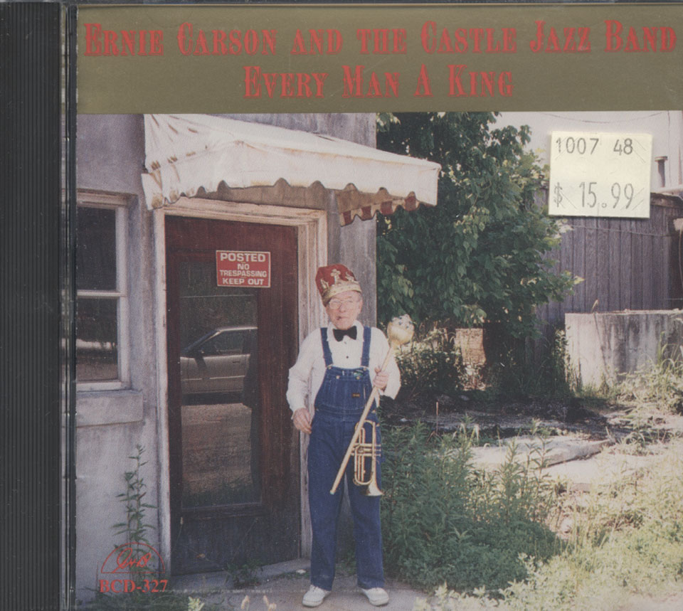 Ernie Carson and The Castle Jazz Band CD
