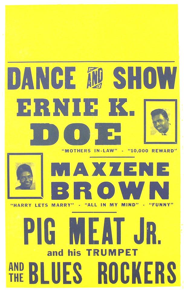 Ernie K-Doe Poster