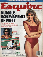 Esquire  Jan 1,1985 Magazine
