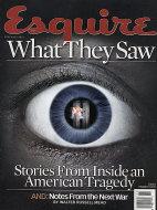 Esquire  Nov 1,2001 Magazine