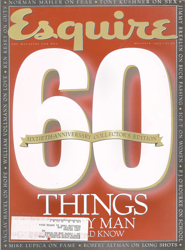 Esquire  Oct 1,1993